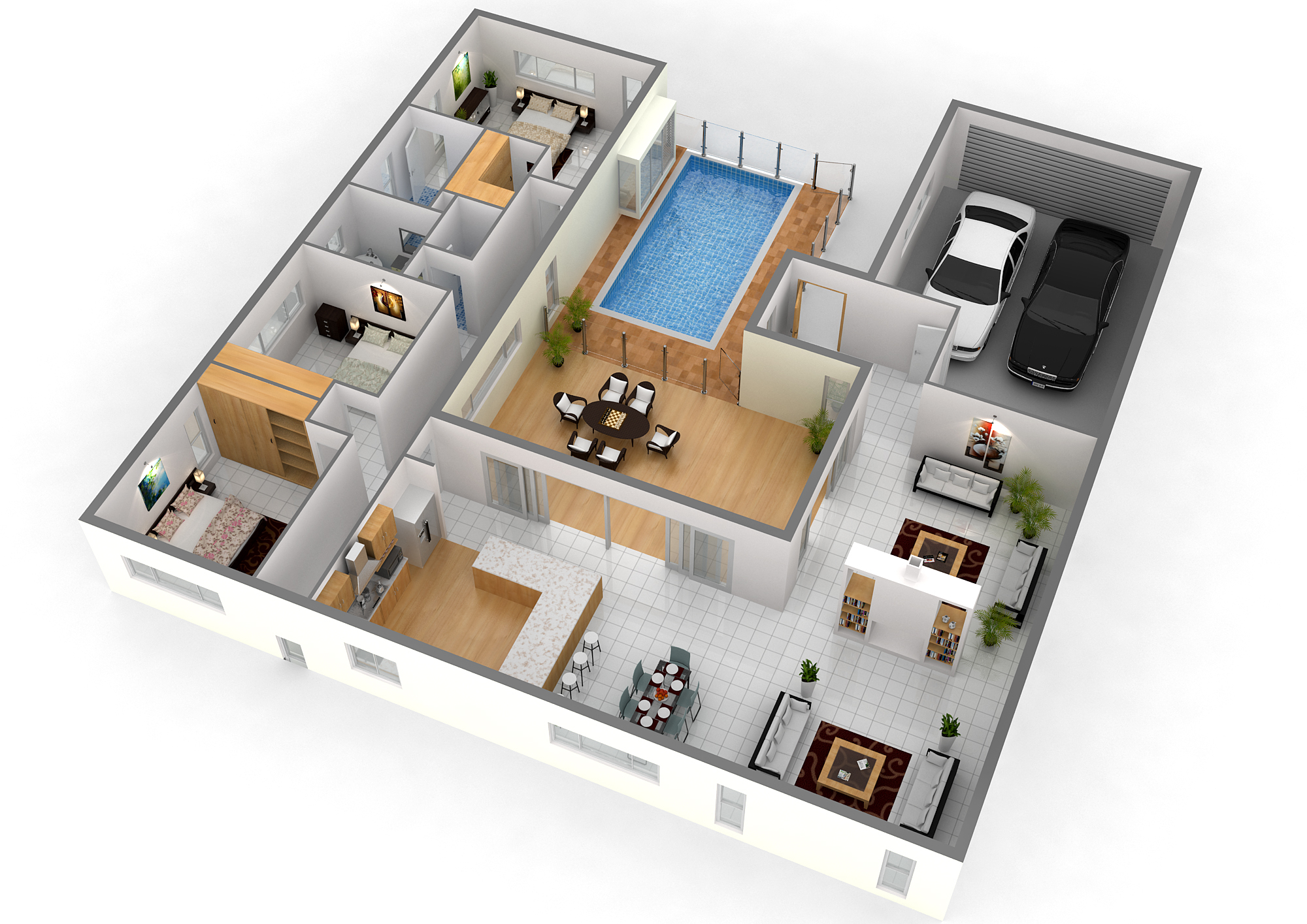 new-3d-house-blueprints-and-plans-with-3d-floor-plan-fig-tree-pocket-qld